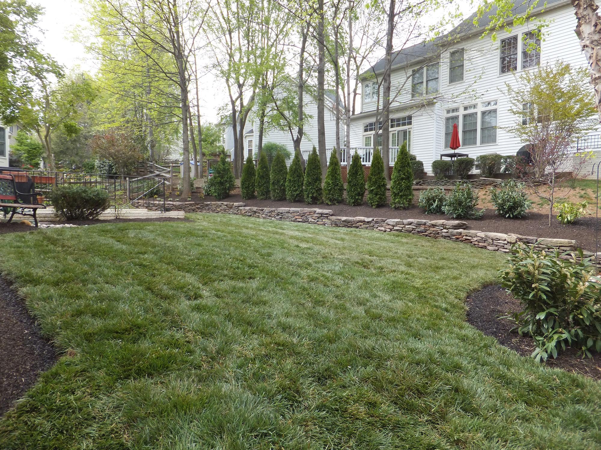 Landscape design treestone landscaping betsy isaacs for Landscaping rocks northern virginia
